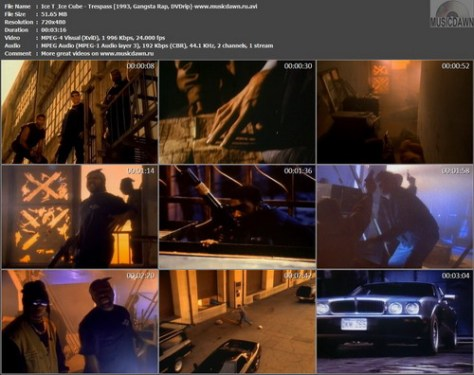 Ice T & Ice Cube – Trespass [1993, DVDrip] Music Video (Re:Up)