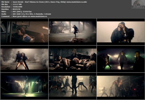 Jason Derulo – Don't Wanna Go Home + The Makin' Of The Video [2011, HD 1080p] Music Video (Re:Up)
