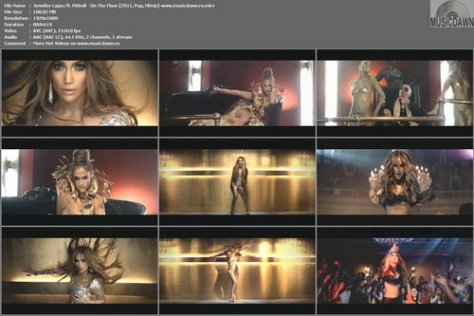 Jennifer Lopez ft. Pitbull - On The Floor (2011, Pop, HDrip)