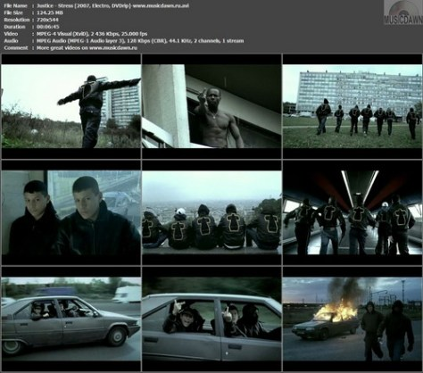 Justice – Stress [2008, DVDrip] Music Video (Re:Up)
