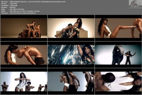 Kelly Rowland ft. Big Sean - Lay It On Me (2011, RnB, HD 1080p)