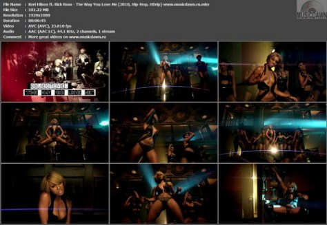 Keri Hilson ft. Rick Ross - The Way You Love Me (2010, R'n'B, HDrip)