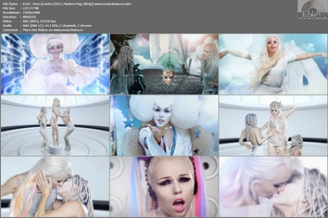 Kerli - Zero Gravity (2012, Modern Pop, HD 1080p)