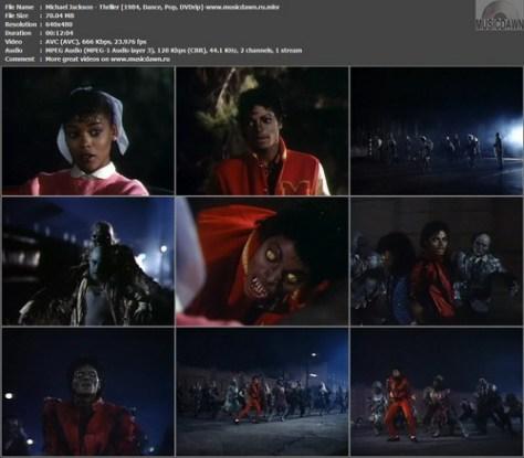 Michael Jackson - Thriller (1983, DVDrip)