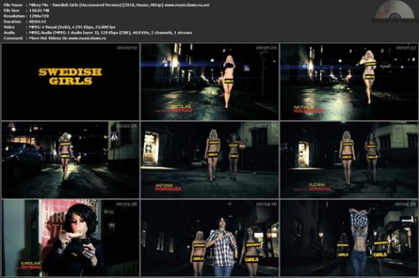 Mikey Mic – Swedish Girls [2010, HDrip] Music Video (Re:Up)