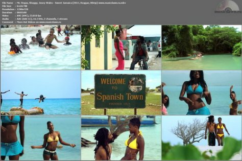 Mr. Vegas, Shaggy, Josey Wales – Sweet Jamaica [2011, HD 720p] Music Video [Re:Up]