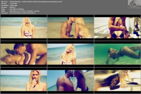 Natasa Bekvalac – Pozitivna [2012, HD 1080p] Music Video