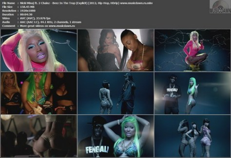 Nicki Minaj ft. 2 Chainz - Beez In The Trap ([2012, Hip-Hop, HD 1080p)