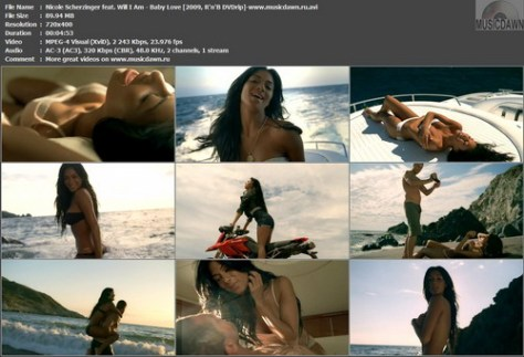Nicole Scherzinger feat. Will I Am – Baby Love [2009, DVDrip] Music Video (Re:Up)