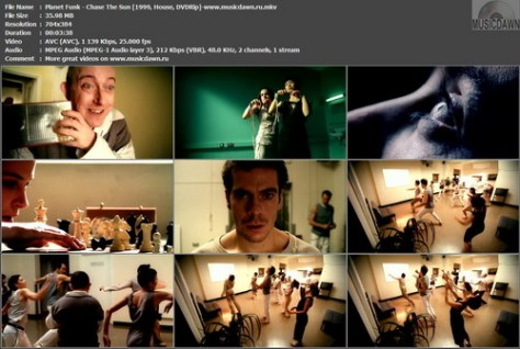 Planet Funk – Chase The Sun [1999, DVDRip] Music Video (Re:Up)