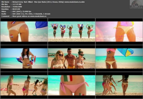 Richard Grey & Nari & Milani – Mas Que Nada [2012, HD 1080p] Music Video