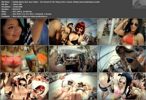 Robbie Rivera feat. Ana Criado – The Sound Of The Times [2011, HD 1080] Music Video
