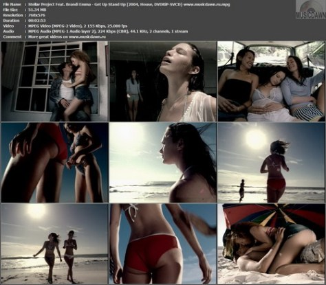 Stellar Project Feat. Brandi Emma - Get Up Stand Up (2004, House, DVDRiP-SVCD)