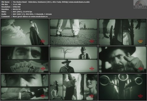 The Budos Band – Unbroken, Unshaven [2011, DVDrip] Music Video