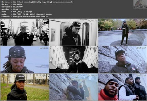 Bizz-E BlazE - Amazing (2010, Hip-Hop, HDrip)