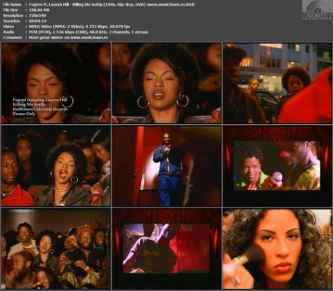 Fugees ft. Lauryn Hill – Killing Me Softly [1996, DVD] Music Video (Re:Up)