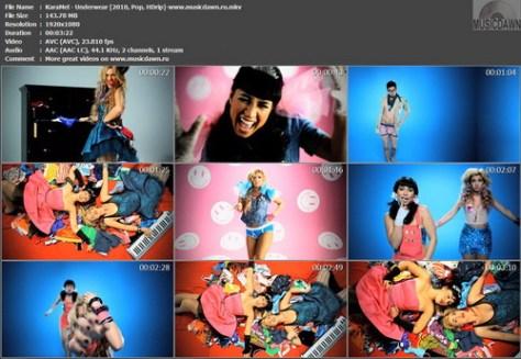 KaraMel - Underwear (2010, Pop, HDrip)