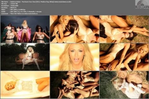 Andreea Balan - Ma Doare Fara Tine (2012, Modern Pop, HD 1080p)