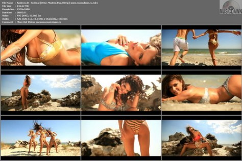 Andreea D - So Real (2012, Modern Pop, HD 1080p)