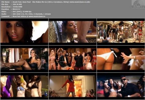 Arash Feat. Sean Paul - She Makes Me Go [2012, Eurodance, HD 1080]