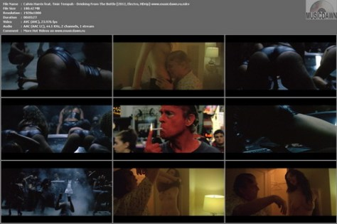 Calvin Harris feat. Tinie Tempah – Drinking From The Bottle (Uncensored) [2012, HD 1080p] Music Video