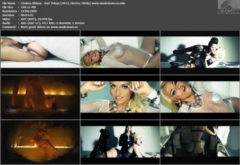 Chelsea Bishop – Bad Things [2012, HD 1080p] Music Video
