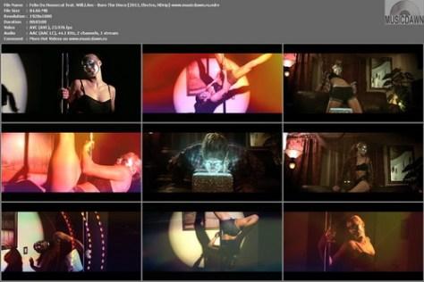 Felix Da Housecat feat. Will.I.Am - Burn The Disco (2012, Electro, HD 1080p)