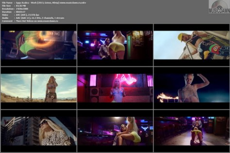 Iggy Azalea - Work [2013, Grime, HD 1080p]