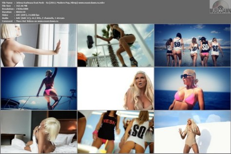 Jelena Karleusa feat.Nesh - So (2012, Modern Pop, HD 1080p)