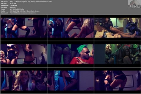 Juicy J – She Dancin [2013, HD 1080p] Music Video
