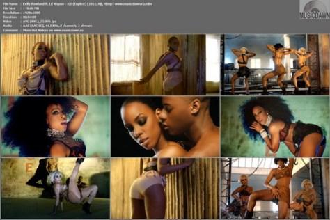 Kelly Rowland ft. Lil Wayne - ICE (Explicit) 2012, R&B, HD 1080p