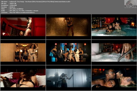 Ludacris ft. Trey Songz – Sex Room (Dirty Version) [2010, HD 1080p] Music Video