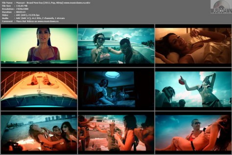Massari - Brand New Day [2012, Pop, HD 1080p]