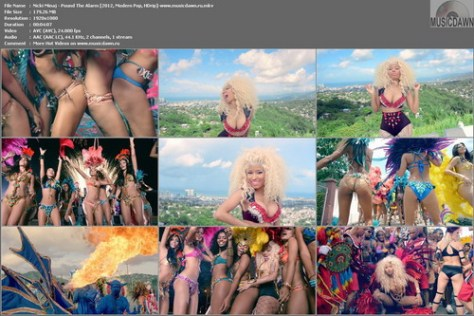 Nicki Minaj - Pound The Alarm (2012, Modern Pop, HD 1080p)