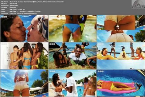 R.I.O. Feat. U-Jean - Summer Jam (2012, House, HDrip 1080p)