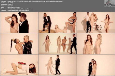 Robin Thicke ft. T.I., Pharrell – Blurred Lines (Uncensored, 2 Versions) [2013, HD 1080p] Music Video
