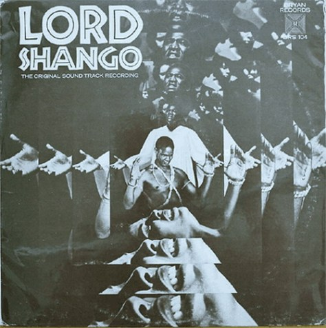 Howard Roberts - Lord Shango LP cover art