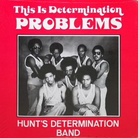 Hunt's Determination Band – This Is Determination Problems (Earwax Cover Art)