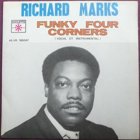 Richard Marks - Funky Four Corners French Issue Picture Sleeve
