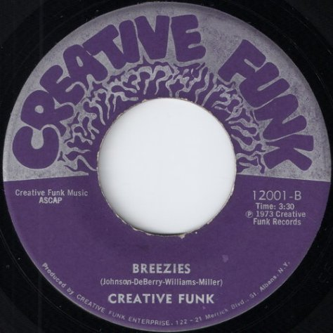 Creative Funk - Breezies (CF # 12001)