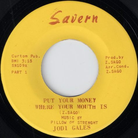 Jodi Gales & Pillow Of Strenght - Put Your Money Where Your Mouth Is Part 1 (Savern)