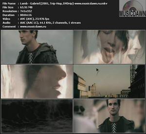Lamb – Gabriel [2001, DVDrip] Music Video
