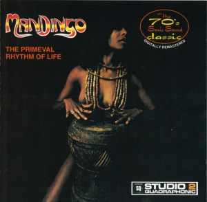 Mandingo - The Primeval Rhythm Of Life CD Reissue Cover