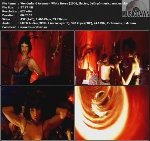 Wonderland Avenue – White Horse [2006, DVDrip] Music Video
