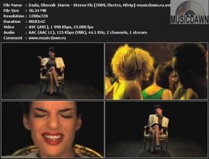 Dada, Obernik & Harris - Stereo Flo (2009, Electro, HDrip)