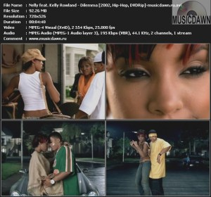 Nelly feat. Kelly Rowland – Dilemma [2002, DVDRip] Music Video {ReUp}