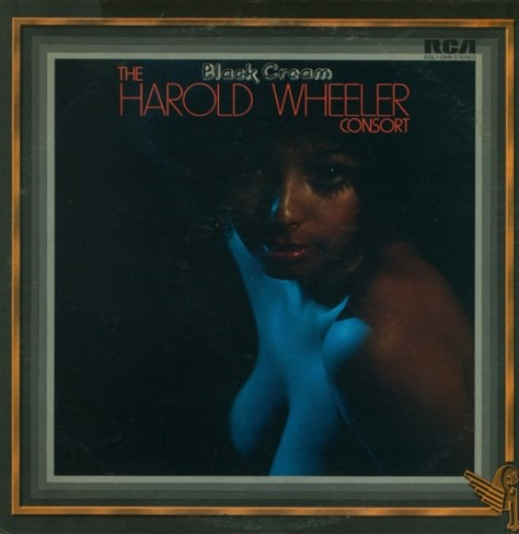The Harold Wheeler Consort - Black Cream '1975 Front Cover Art