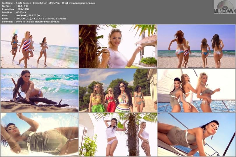 Costi & Faydee - Beautiful Girl [2014, Pop, HD 1080p]