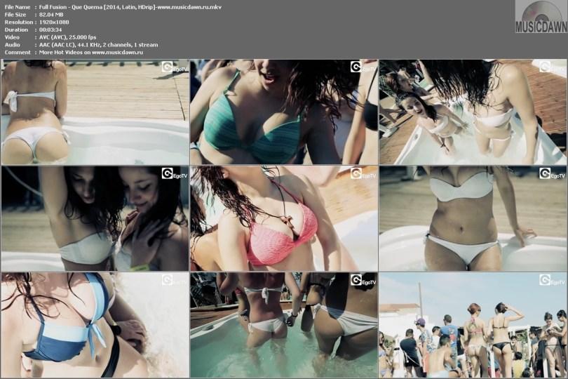 Клип Full Fusion - Que Quema [2014, HD 1080p]