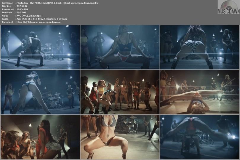 Клип Mastodon - The Motherload [2014, HDrip]
